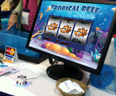 custom slot machine software trade show